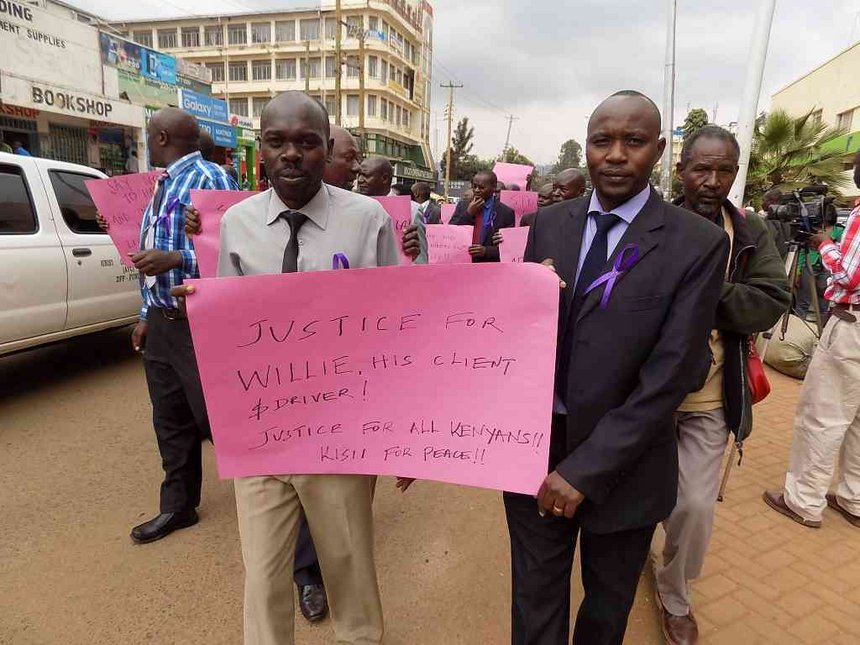 Kisii lawyers stage protests, avoid court, urge clients to stay away from sessions