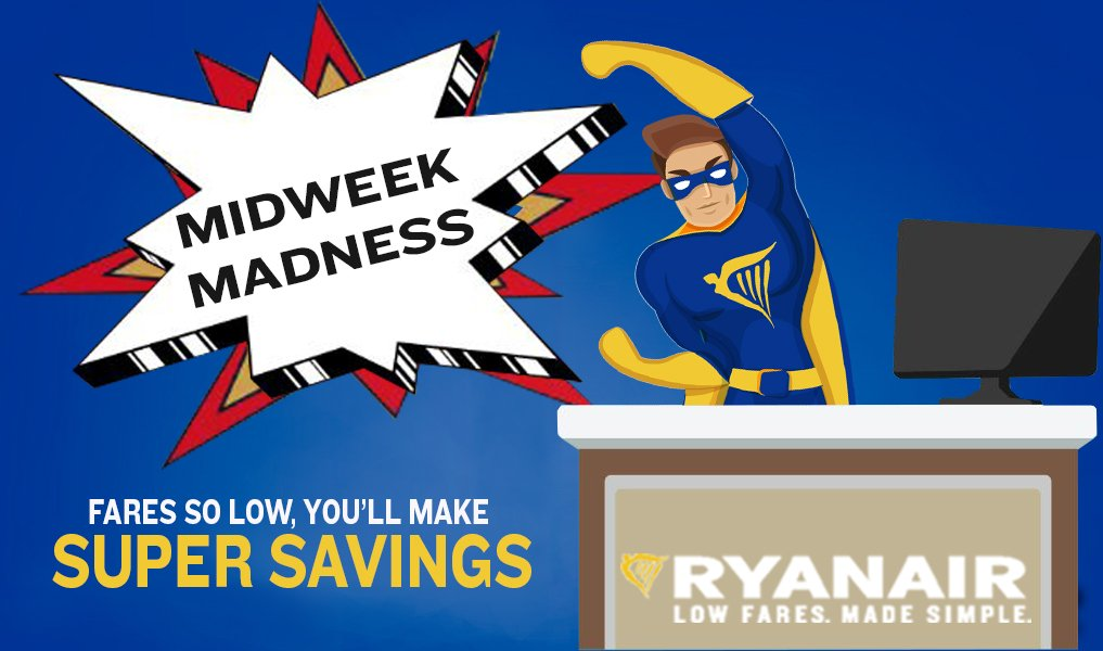 Midweek Madness!   London Stansted to Cologne £9.99 your money. Be a HERO