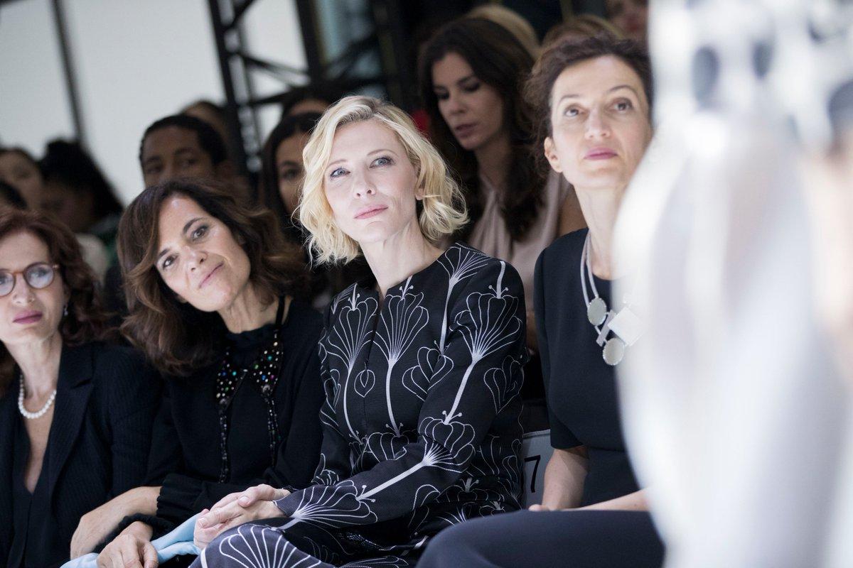 Blanchett, @OfficialWillow ...estos son los famosos apasionados por la alta cost...