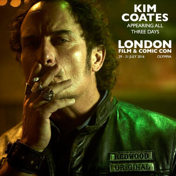 Latest Guest Announcement for LFCC - KIM COATES (Sons of Anarchy) - more info www.londonfilmandcomic.con https://t.co/NMmkstLc2e