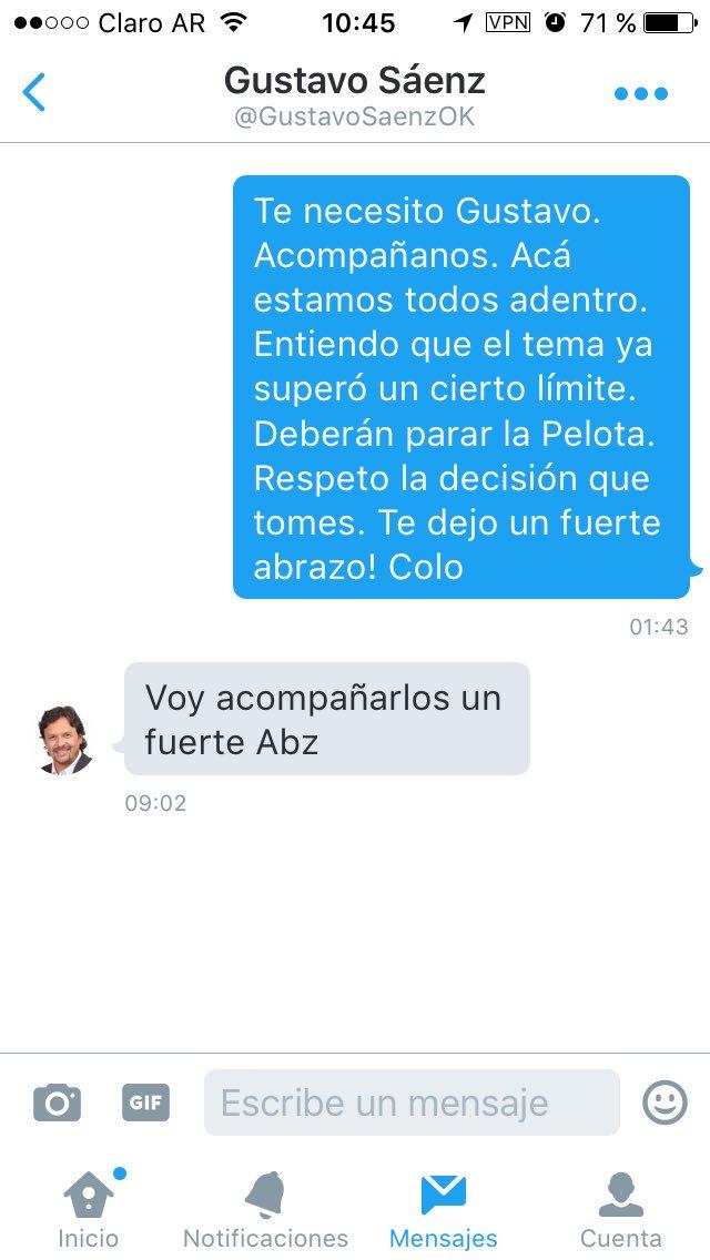 Agradezco públicamente el apoyo del Intendente @GustavoSaenzOK al Amparo Colectivo contra el #TarifazodeGas en Salta https://t.co/XAJLtuHbd7