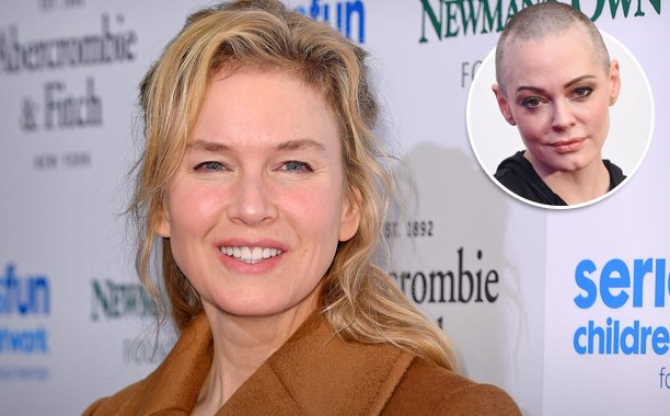 Rose McGowan defends Renee Zellweger in a furious column about Hollywood sexism: