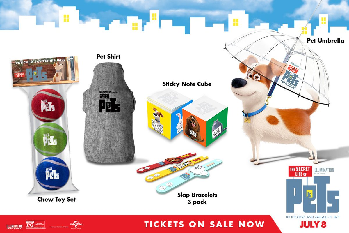 FOLLOW & RT for a chance to #win this super cute @PetsMovie prize pack! Good luck! https://t.co/vEJrDAVlRV