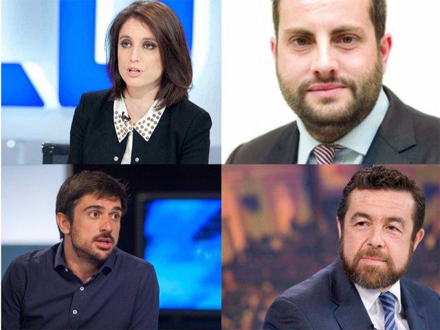 Esta noche en #elDBT: @ALevySoler, @Ibangarciadb, @RamonEspinar y @MGutierrezCs. Hoy a las 00:40h con @JulioSomoano https://t.co/c40AQKZTOi