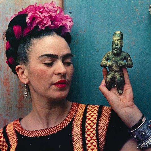 Happy birthday to painter, poet and icon #FridaKahlo, born this day 1907. https://t.co/YLQvhZTnuE