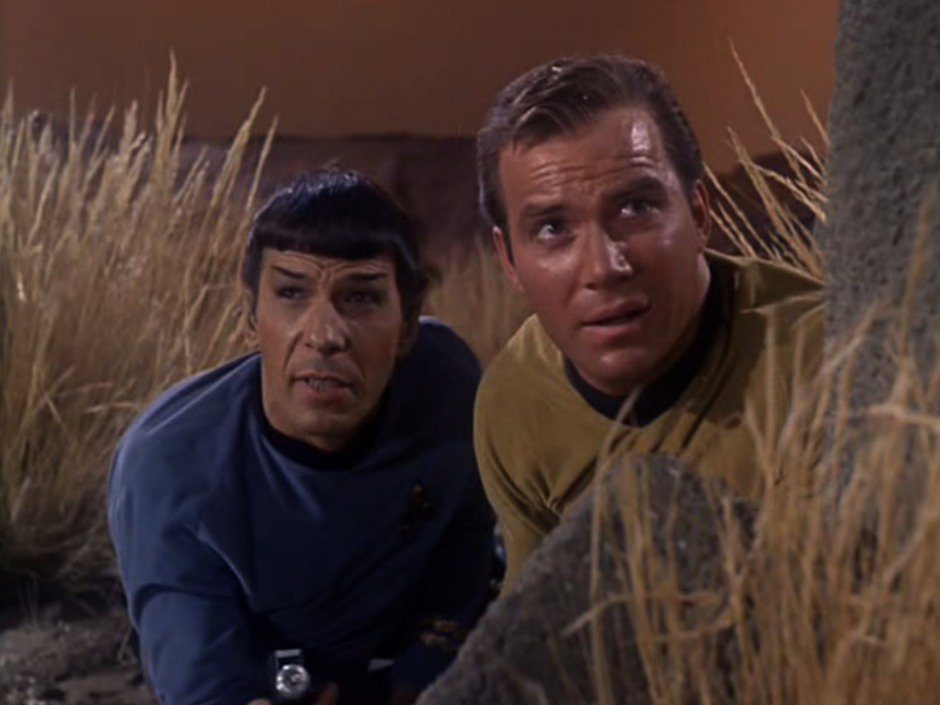 Early Star Trek script featured Captain Kirk fighting Jesus via @nparts