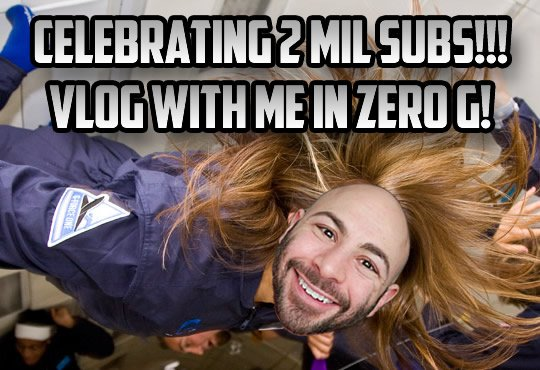 Enter for a chance to record a vlog with @Swiftor in zero gravity 32,000 feet in the air!  https://t.co/xWsbWnba4L https://t.co/f4MD2YcKaJ
