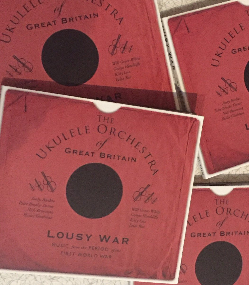 Our album 'Lousy War' featuring music from the period of WW1 now available from our website https://t.co/6V5TX7G2UE https://t.co/fAB78scScZ