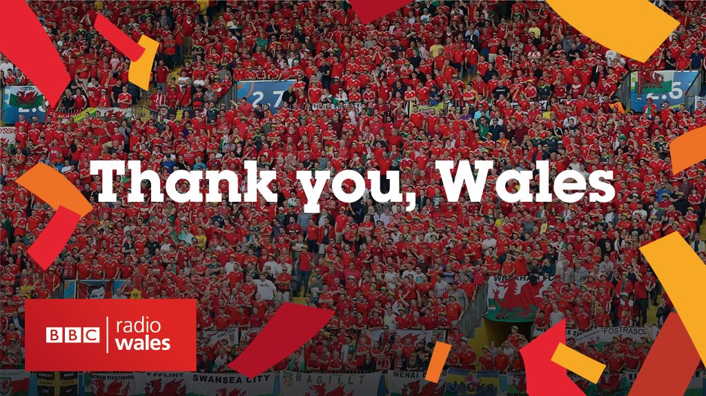 What an amazing, emotional, inspirational journey it's been. Diolch Arwyr Cymru. Thank you @fawales Heroes  #WALPOR https://t.co/rexttcyuQF