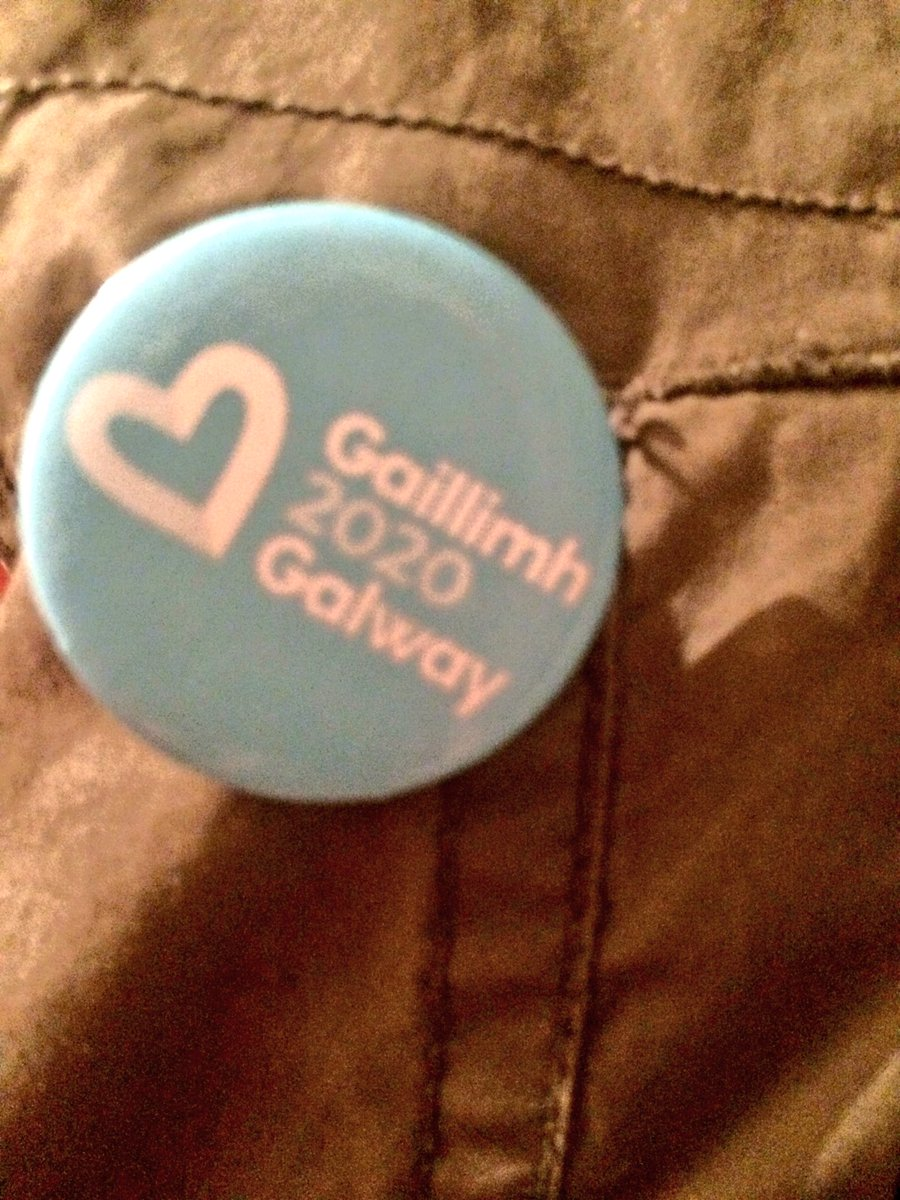 I back #Galway (and am damn proud to) #Galwayhour #IBackGalway #Galway2020 https://t.co/CIDAGnST6s