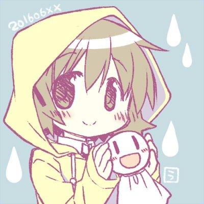 梅雨のっちとてるてる宮子 https://t.co/8GereTMXDj