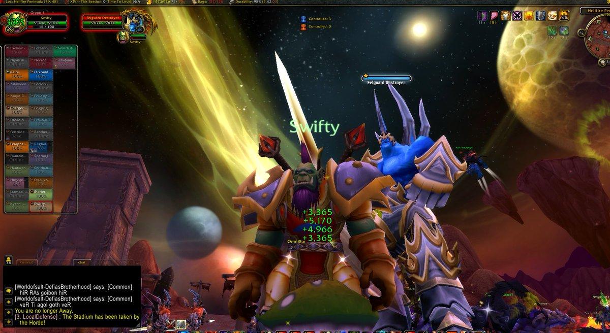 Hunting Felguards Demon Bounty https://t.co/Nkcm55j03F #swiftybounty @rulethelivingroom @nvidiashield @warcraft https://t.co/IHssimdFoF