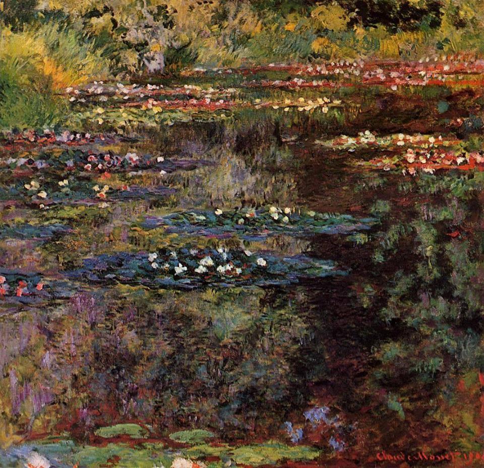 Claude Monet - Water Lilies. 1904 https://t.co/w3U13UiTLY