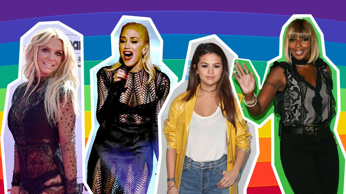 Britney Spears, Selena Gomez, Meghan Trainor, Jennifer Lopez  all join 'Hands' for Orlando