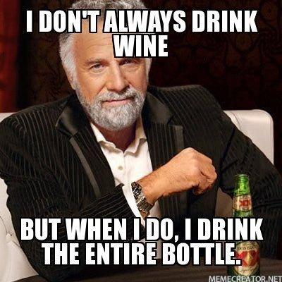 test Twitter Media - I don't always drink #wine! But when I do, I drink the entire bottle! #wineselfies #winelovers https://t.co/74MSrxFUj4