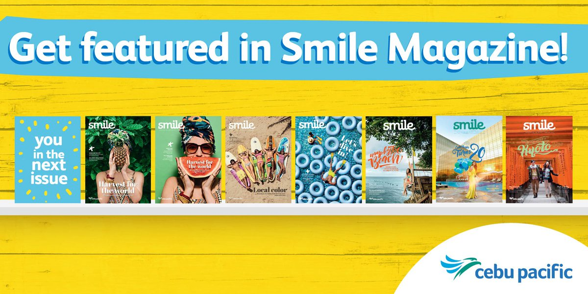 Get featured in Smile! Click the link to enter your details and we'll get in touch with you!