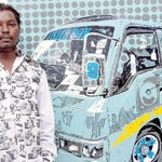 Matatus inspire artist to do first solo show in Kenya