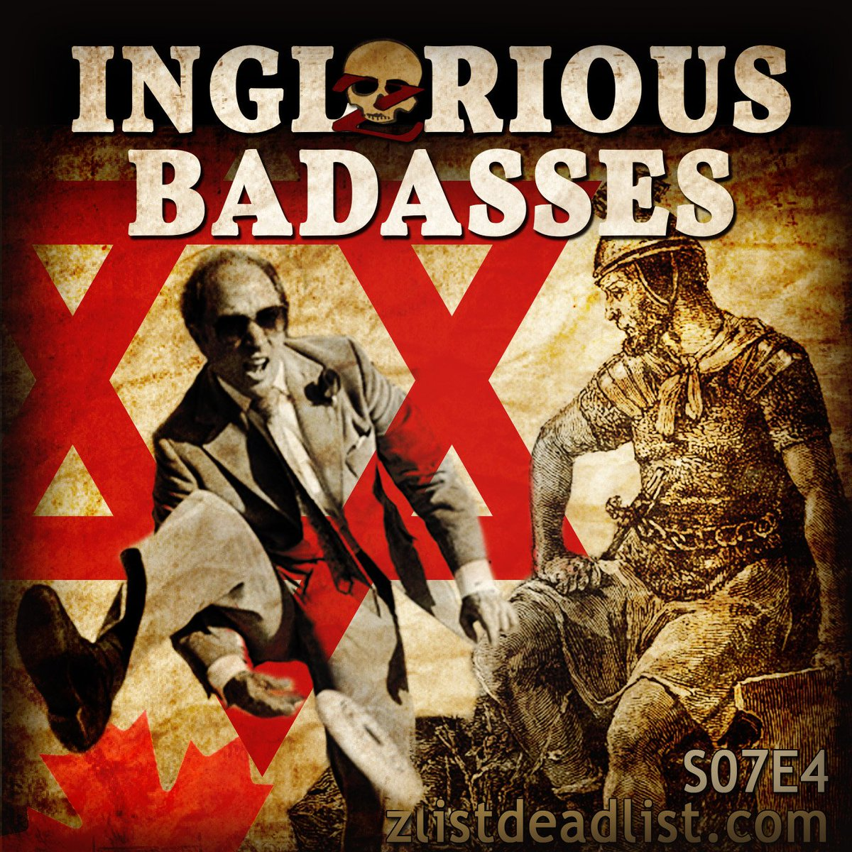 S07E4 Inglorious Badasses with @escarius @petejohansson and @haydencohen https://t.co/hg8Ljb8SE3 #podcast #history https://t.co/AtdVAiK4wX