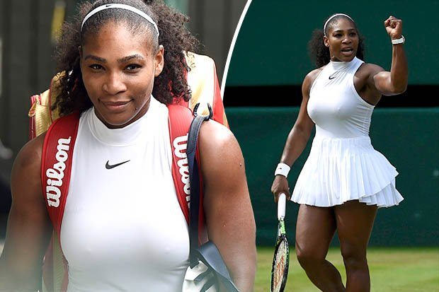 williams see through Serena