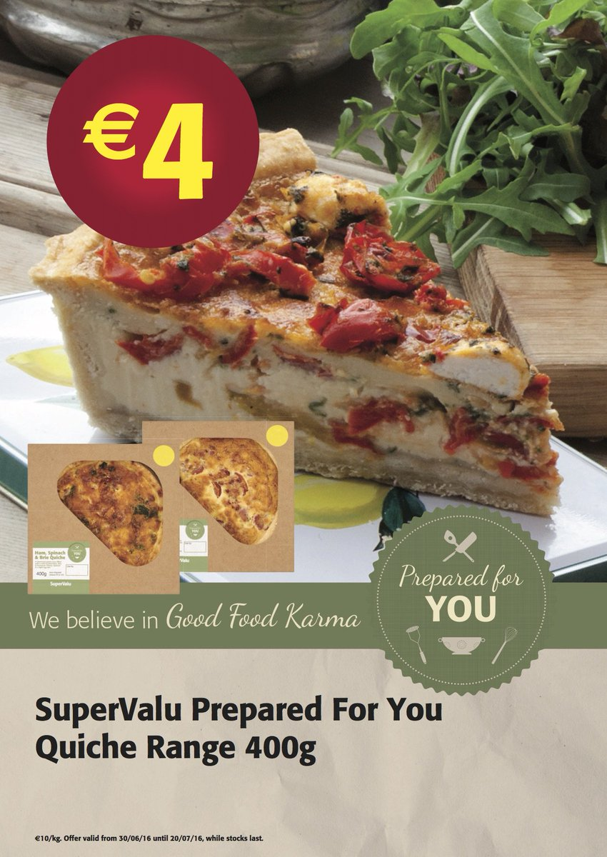 "Have you tried our ""Prepared for You Range""? Try our quiches for lunch without the work. https://t.co/FJQIcw1WuT"