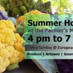 The #PalmCoast Farmers Market is this #Sunday! Drop by starting at 4 PM. Admission is free https://t.co/ibgMtgCvKK https://t.co/7T2BgOCnh9