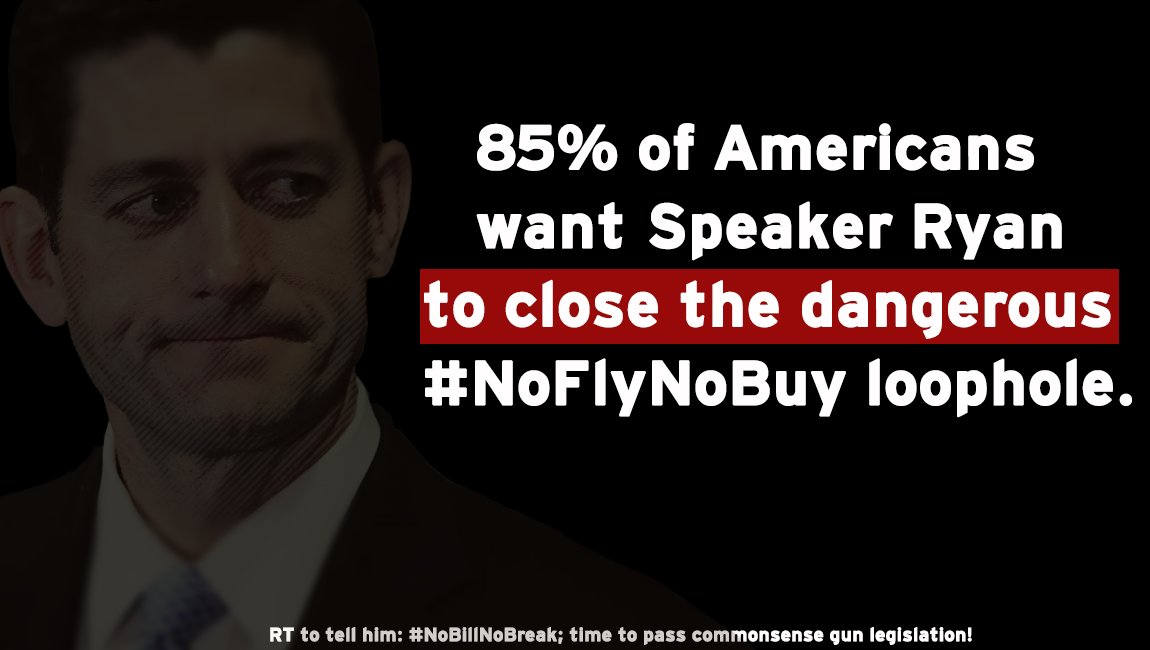 .@SpeakerRyan: give the American people a vote on commonsense gun violence legislation. We must act. #DisarmHate https://t.co/v017lpJ3SV