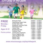 LETS PLAY IN THE PARK: *FINAL WEEK* M-F F at 13 #Mississauga parks🌳🏃💃 FREE. Info/Maps: https://t.co/j8XiFK9lkU https://t.co/8IMEhqraos