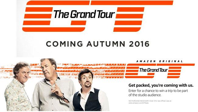 Win Tickets to Meet Clarkson, Hammond and May on First Grand Tour Show #PrimeDay https://t.co/4Quz6yebsR https://t.co/MUUDru7yhA