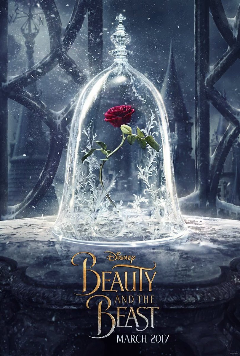 The first official #BeautyAndTheBeast poster! https://t.co/vd0GWOUyxB
