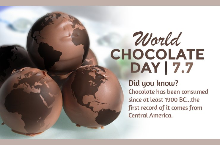 Treat yourself because today is #WorldChocolateDay! #AlwaysATreat https://t.co/VQ4T9FZu5H