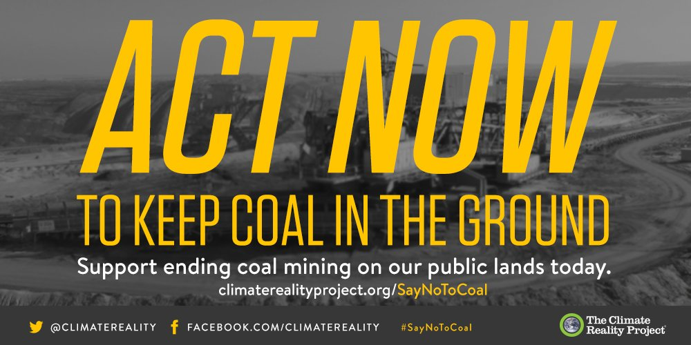 The US must live up to its Paris commitments. Tell @Interior to #SayNoToCoal on public lands https://t.co/ghdh5hHkVL https://t.co/WcQ1lwF7L3