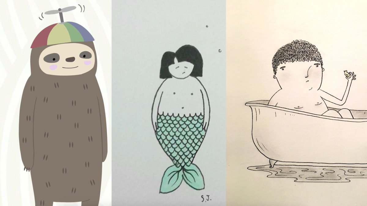 Today we've got challenges for anyone interested in sloths, mermaids and dudes in tubs... https://t.co/fpJROLJJnG https://t.co/x1pFaVKsH6