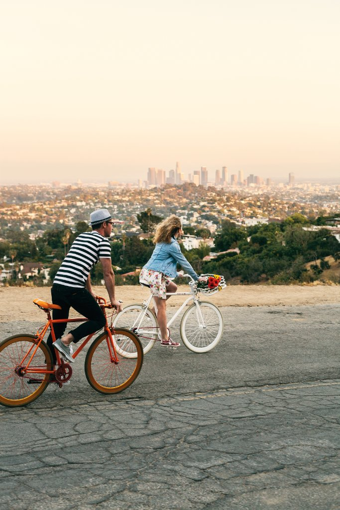 Wheels down for @enRoutemag this month as they pedal their way through L.A. Discover it: