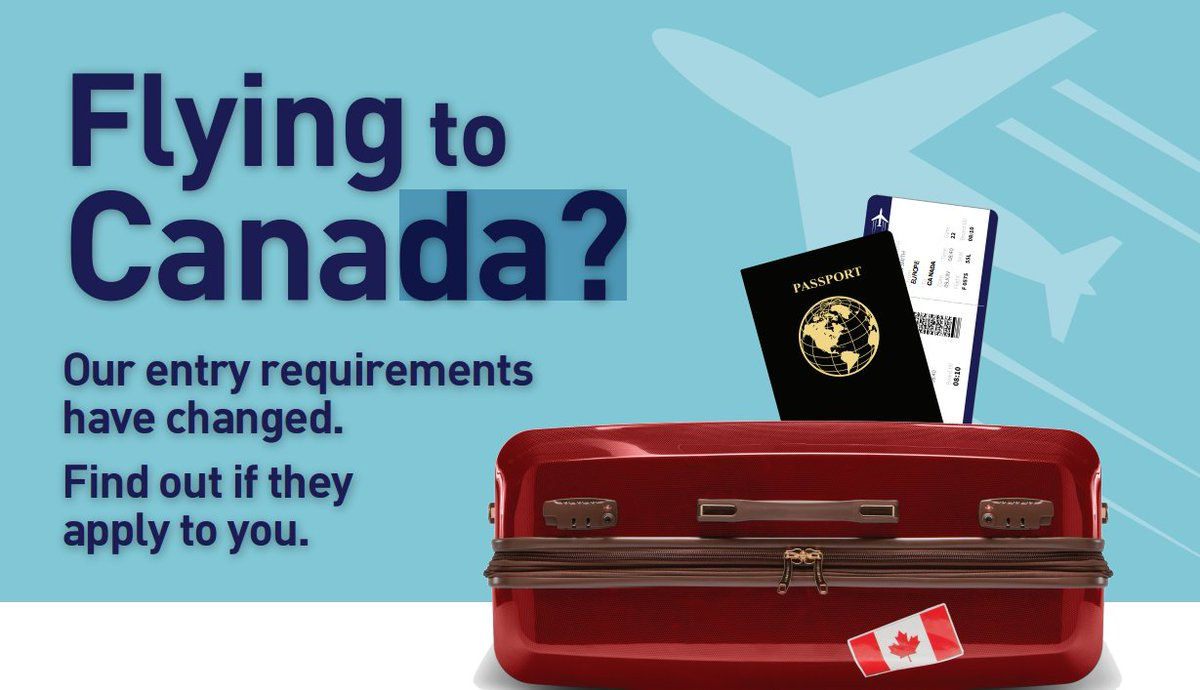 New entry requirement recently introduced by the Government of Canada. Read more -