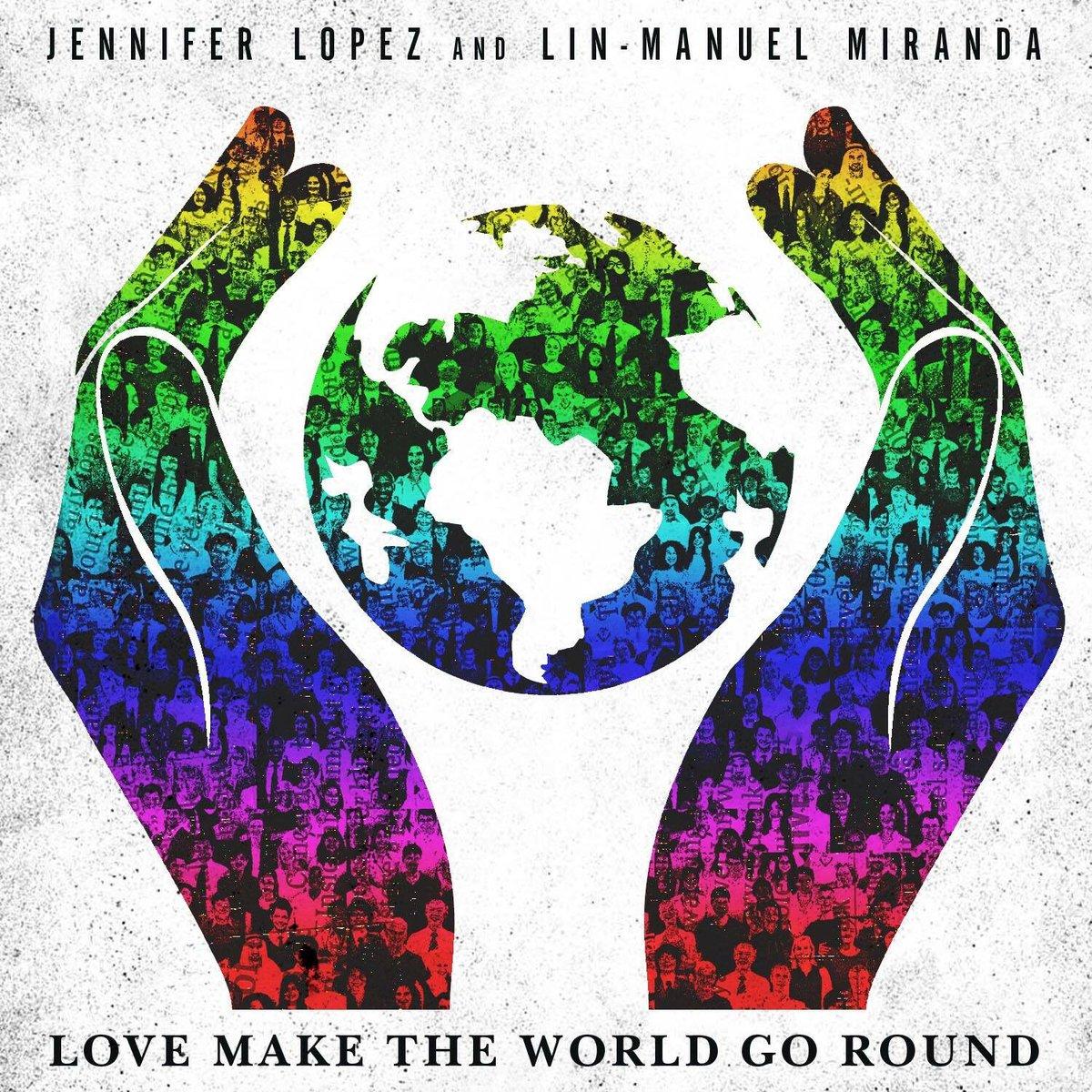 #LoveMakeTheWorldGoRound Available TONIGHT (9pm PDT/ 12am EDT) on @itunes  #SomosOrlando @JLo @Lin_Manuel ❤️