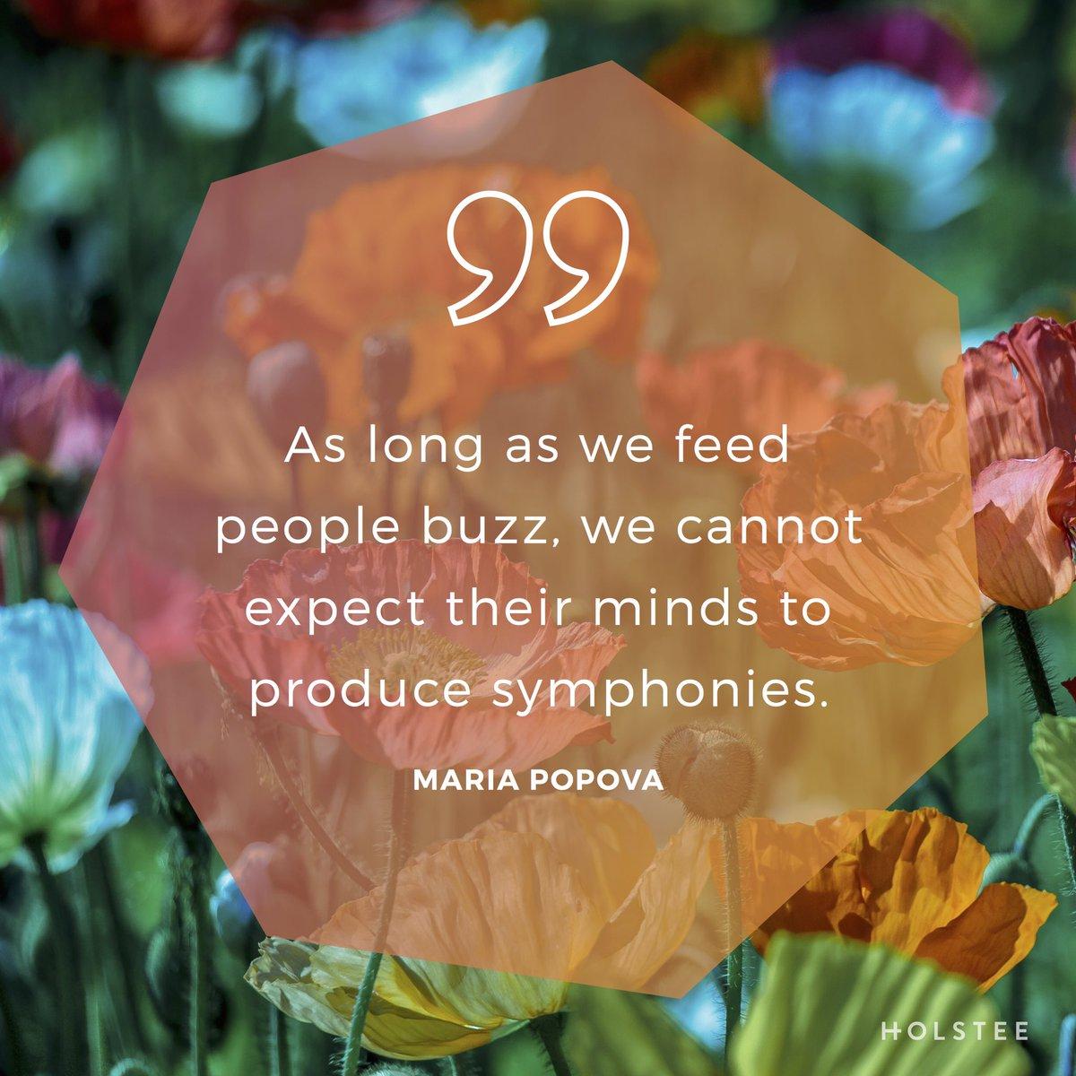 Write your own symphonies. #curiosity and creativity via @brainpicker https://t.co/drBn5xAc2T