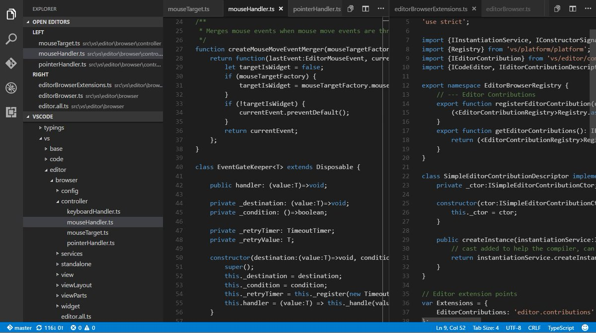 This update for @code is EPIC!!! #awesome tabs, debugging updates #DeveloperLove - v1.3 https://t.co/TVjffAC5Fu https://t.co/vHOcV0C8xi
