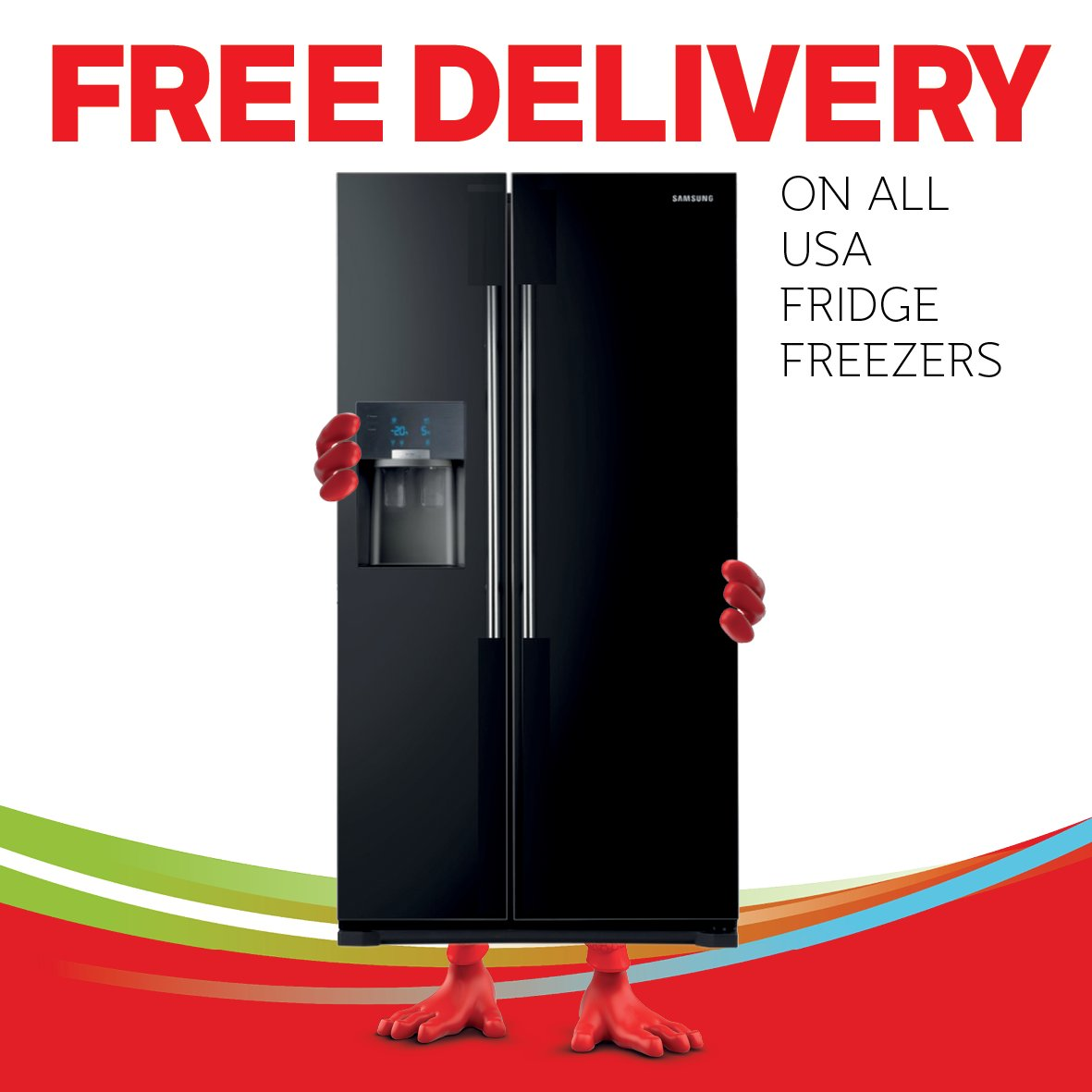 Free delivery on all USA fridge freezers this weekend! check it out here; https://t.co/zr6iKSq4kO #SummerSale https://t.co/RHdzPRXhpN