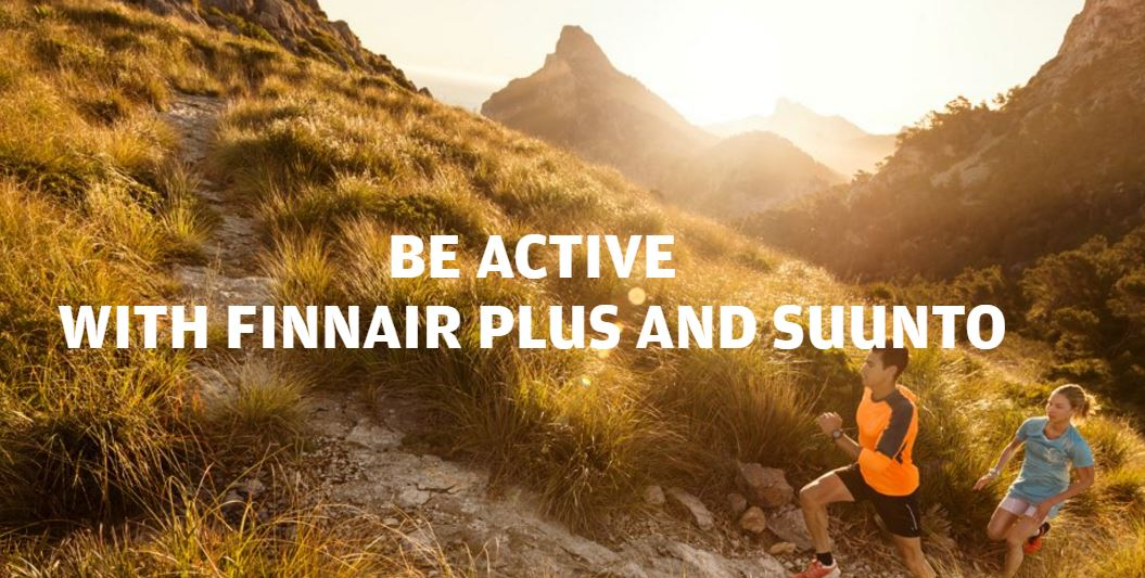 Link Finnair Plus & @Suunto Movescount. Win Finnairplus points by running!