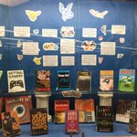 Check out our display inspired by Pokemon with books on game design and animation art! @ucaComputerSci @UCA_CFAC https://t.co/aNNAxPjg7o