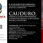 """Asiste a la Exposición """"Cauduro, gráfica contemporánea un homenaje de Cuernavaca al gran maestro Rafael Cauduro"""" https://t.co/J804LPeCPl"""