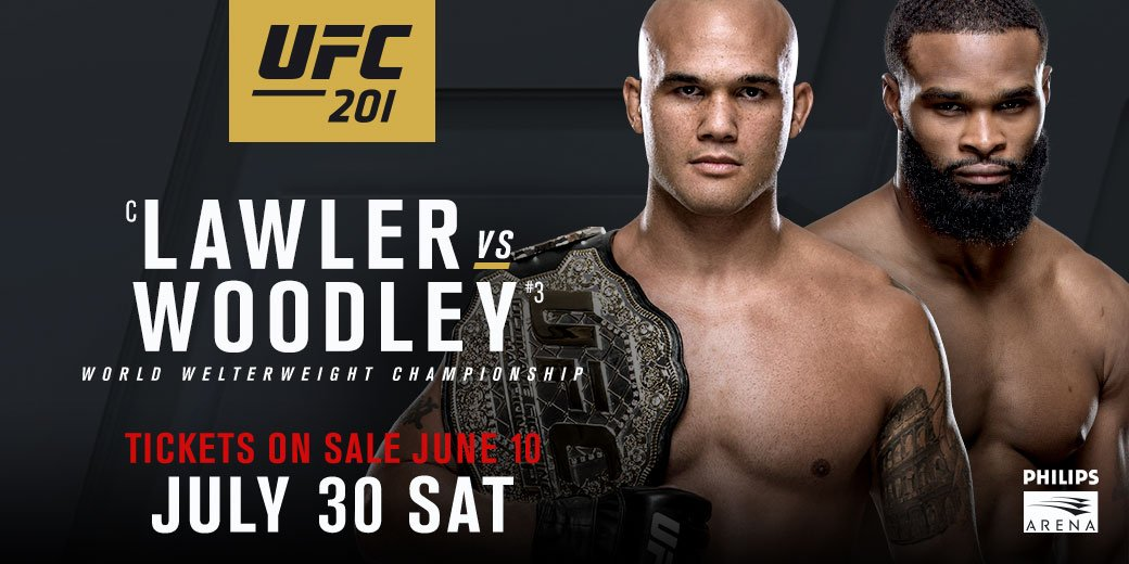 Today's #FreebieFriday: Tickets to #UFC201 next Saturday! RETWEET this tweet for your chance to win. https://t.co/EjwKZmVO6p