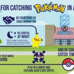 Were excited to see so many people out in Ajax playing #PokemonGO Have fun with these helpful tips #GotToCatchEmAll https://t.co/mv6jtxQXxv