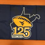 We are selecting 5 random Mountaineer fans to send this #WVU125 flag - RT and follow for a chance to win! https://t.co/76EnJ5wLXA