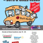 #StuffTheBus at @BowmanGray33 with @myfox8 tomorrow! Donate when you come to watch the racing! https://t.co/JrpbpCfOlP