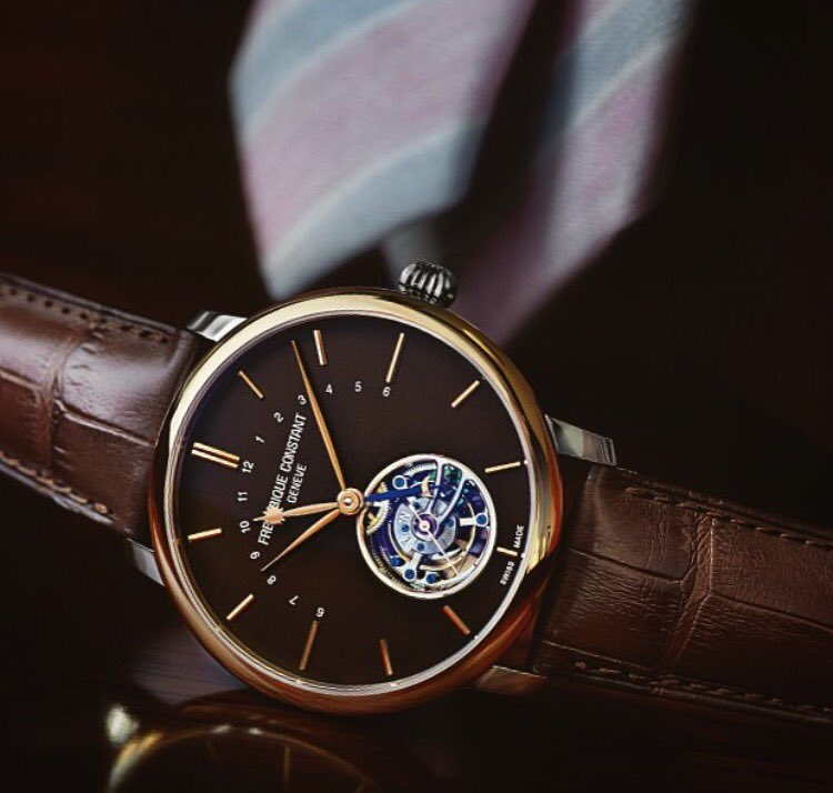 #Friday essential to start the weekend  with our #ManufactureTourbillon  Discover the watch: https://t.co/5HM9r7m8v5 https://t.co/4aTNaDeMEf