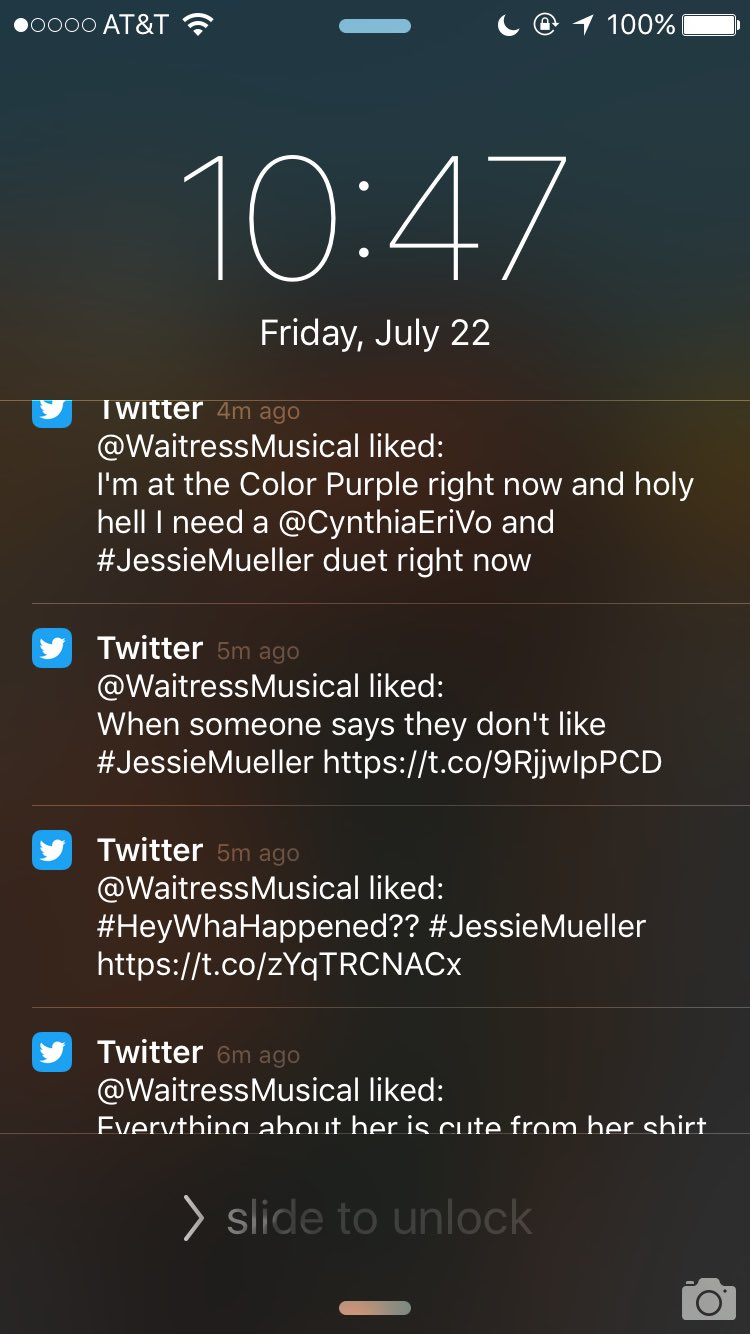 I love waking up to this��❤️ @WaitressMusical https://t.co/5lZHHhVZFB