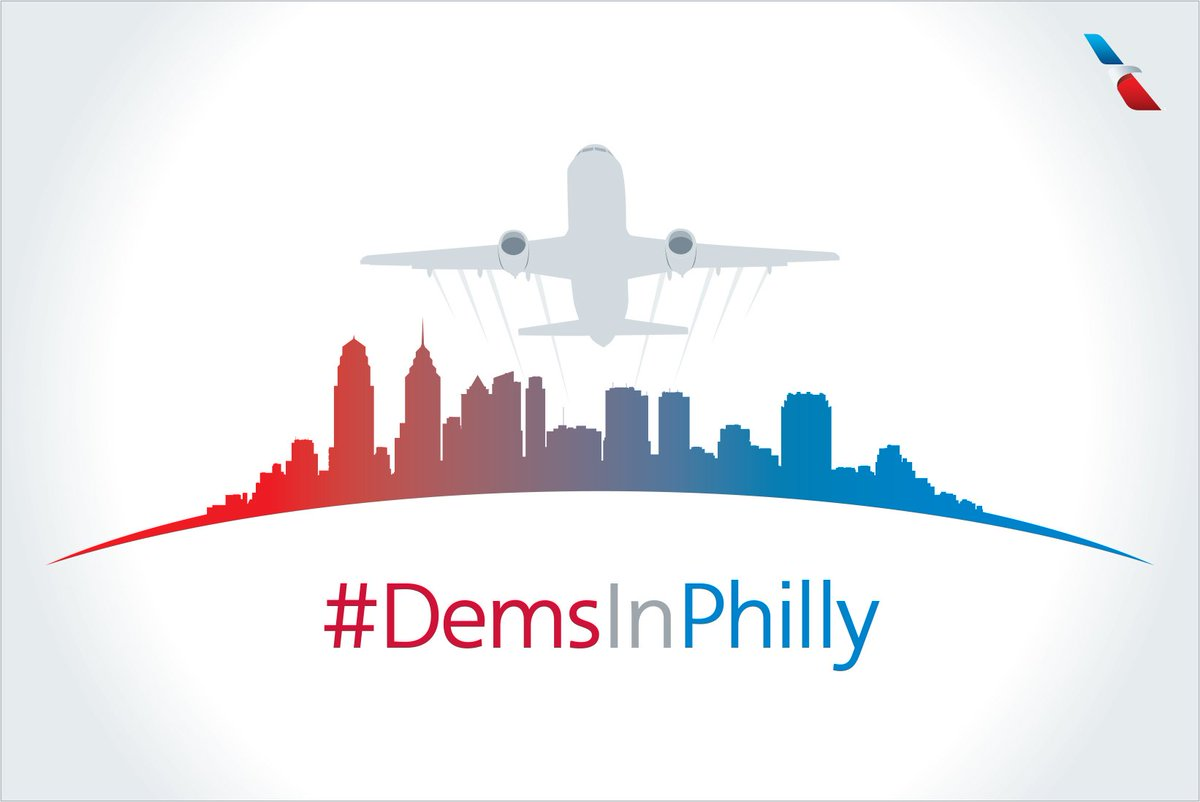 We're ready for DemsInPhilly. Check for operational info to ensure a great trip to PHL.