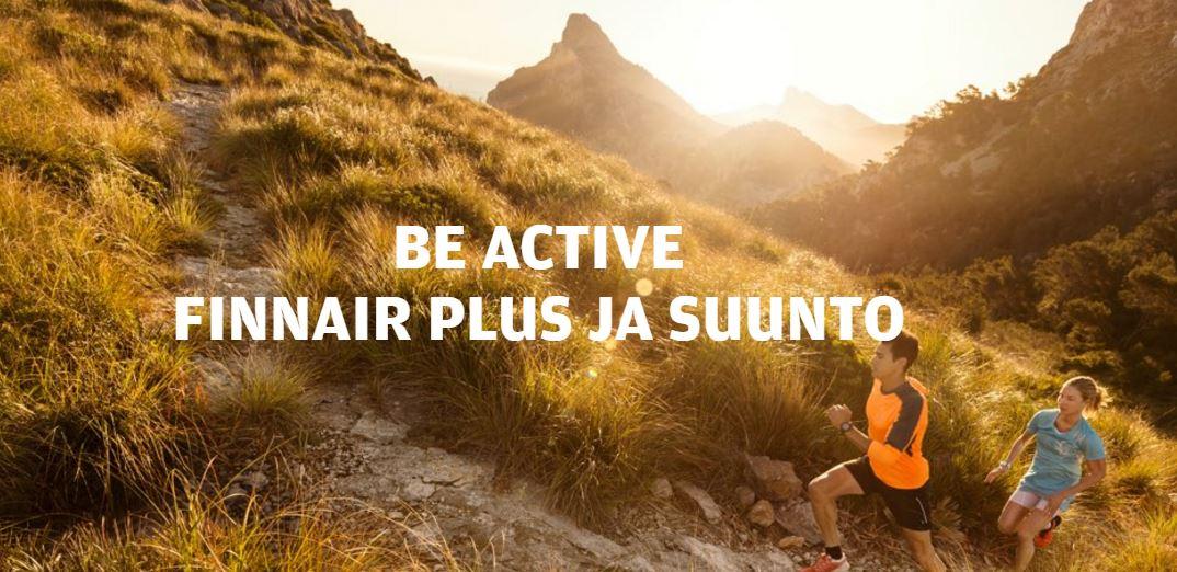 1) Liitä Finnair Plus ja @Suunto Movescount 2) Juokse 3) Voit voittaa Finnairplus pisteitä