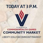 Dont forget to head over the Virginia Commonwealth Games Community Market today on Campus. https://t.co/KplONtlf6u https://t.co/DIBjWiELe9